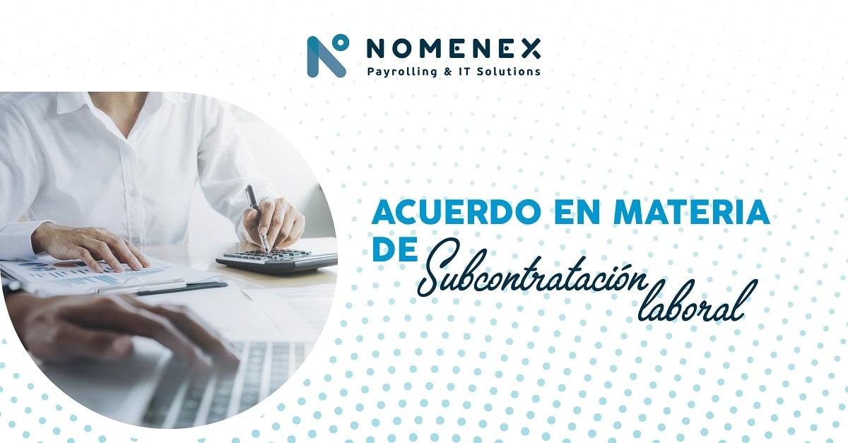 Subcontratación laboral Nomenex
