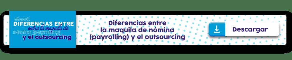 Diferencias entre la maquina de nomina y el outsourcing